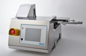 Picture of semiconductor wafer loader for microscope inspection